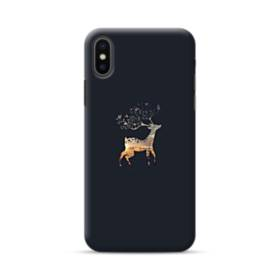 Reindeer Christmas Ornament iPhone XS Case