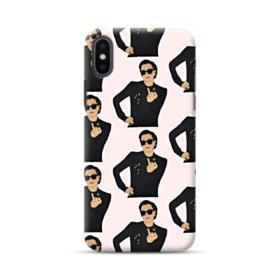 Kris Jenner middle finger meme iPhone XS Case