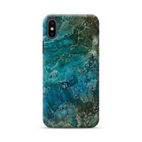 Green Marble iPhone XS Case