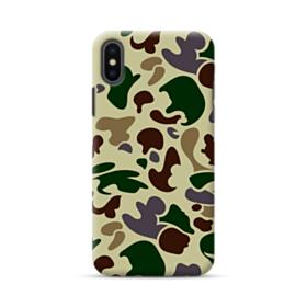 AAPE Light Camouflage Pattern iPhone XS Case