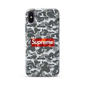 Bape x Supreme iPhone XS Case