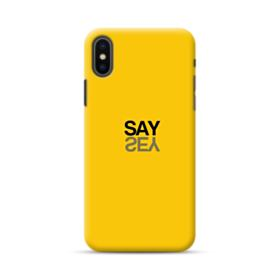 Say Yes iPhone XS Case