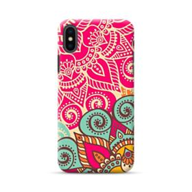 Mandala Pattern iPhone XS Case
