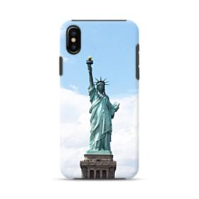 Statue of Liberty iPhone XS Hybrid Case