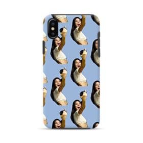 Kendall Jenner funny  iPhone XS Hybrid Case