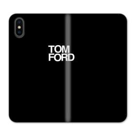 Tom Ford Poster iPhone XS Max Wallet Leather Case