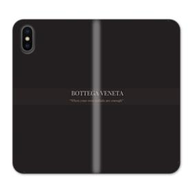 Bottega Veneta Quote iPhone XS Max Wallet Leather Case
