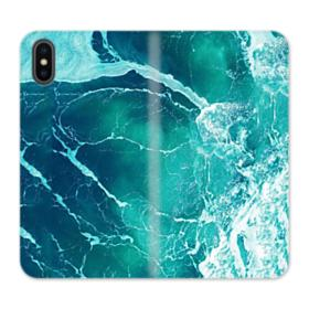 Ocean  iPhone XS Max Wallet Leather Case