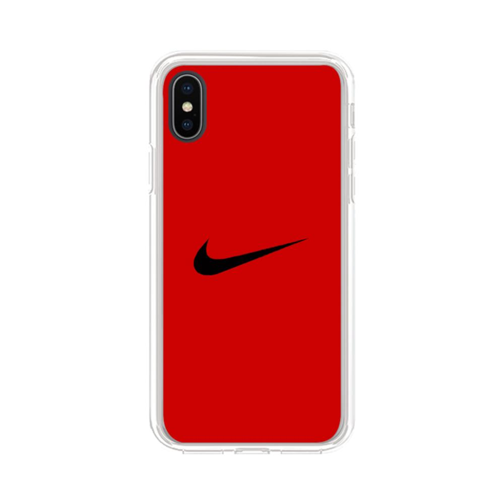 competitive price 9f877 f999f Nike Logo iPhone XS Max Clear Case