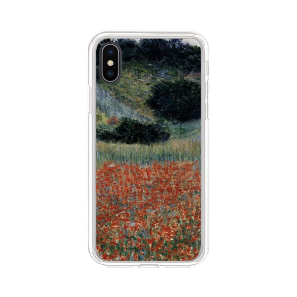 Poppies Claude Monet Iphone Xs Max Clear Case