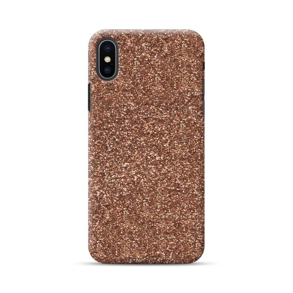 buy popular 109e6 93e5f Gold Glitter iPhone XS Max Case