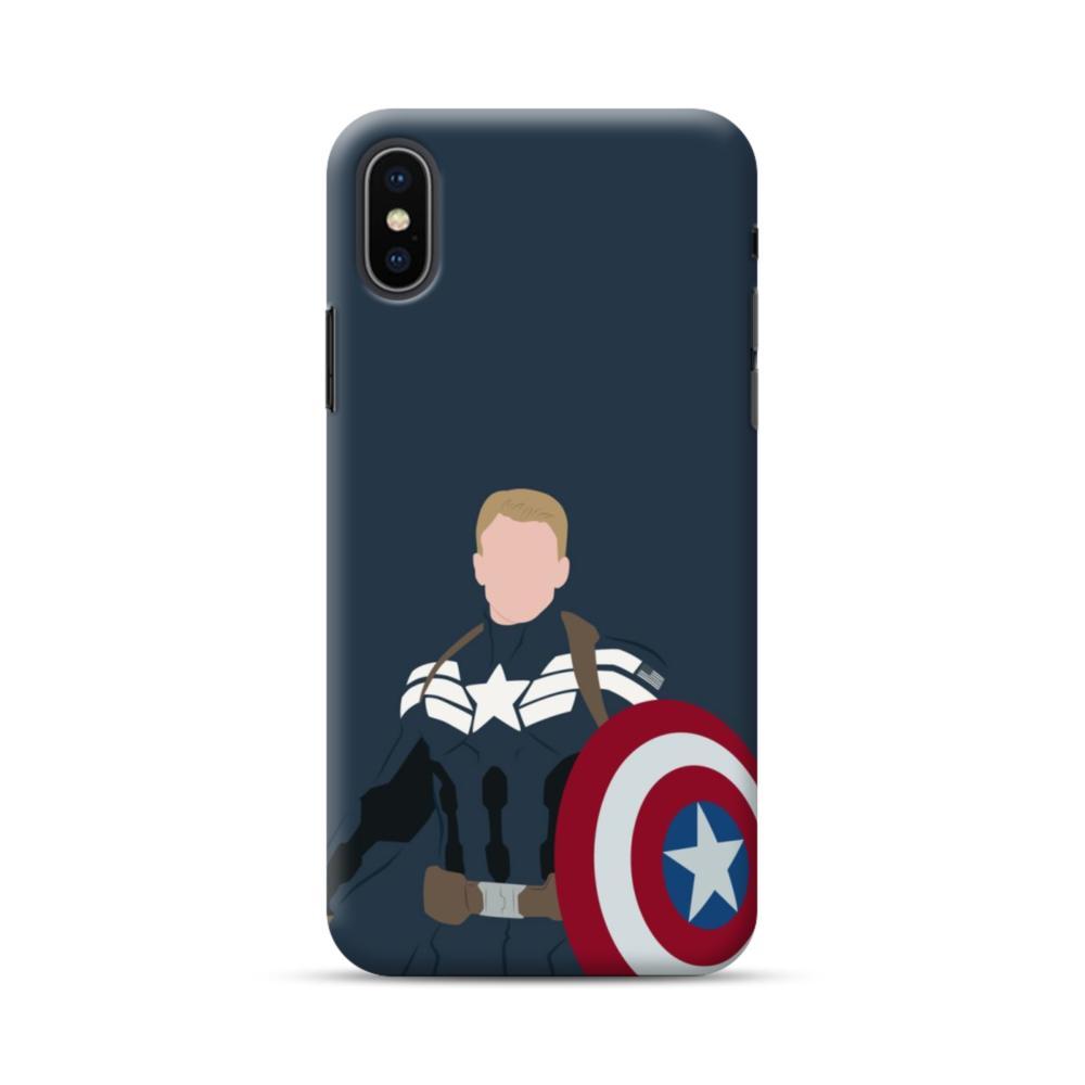 quality design 74b3b 3754c Captain America Comic iPhone XS Max Case