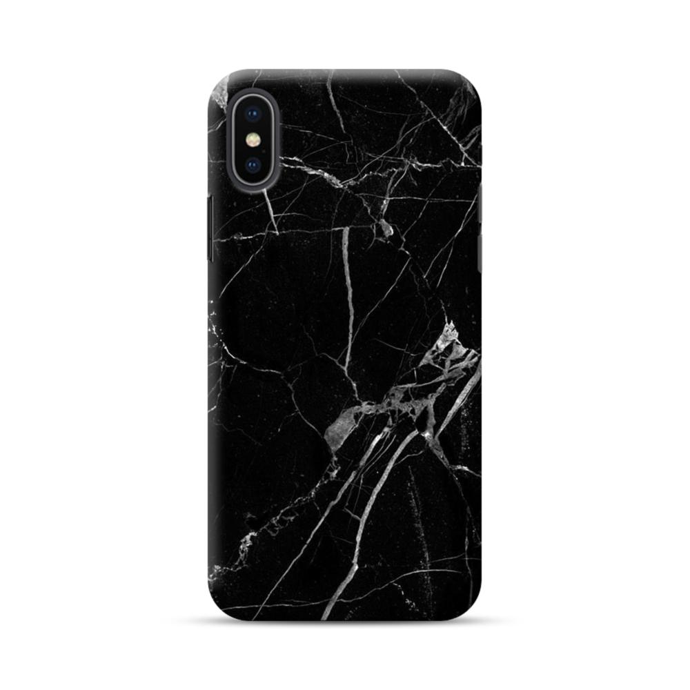 newest 64962 1724a Black & White Marble iPhone XS Max Case