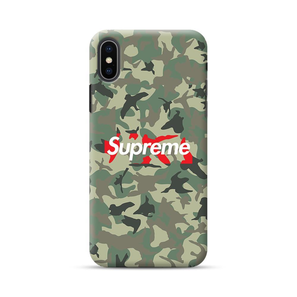 premium selection 30224 09565 Supreme Camo iPhone XS Max Case | CaseFormula