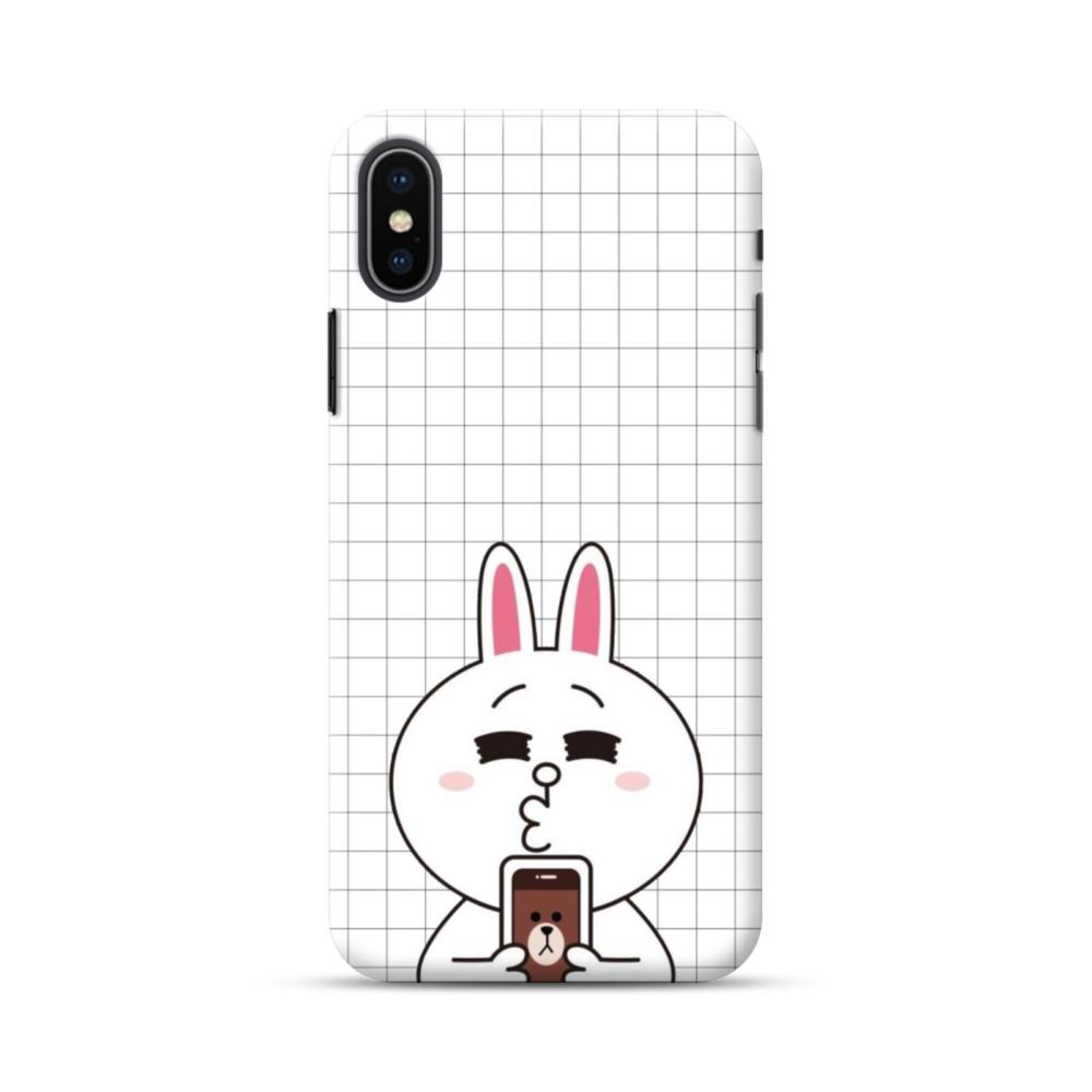 reputable site c8fe4 445ef Line Friends Cony in Love iPhone XS Max Case