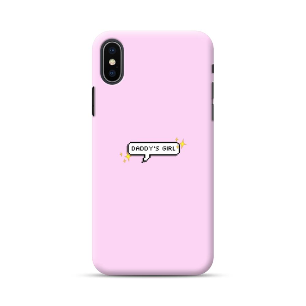 Daddy\'s Girl Quote iPhone XS Max Case | CaseFormula