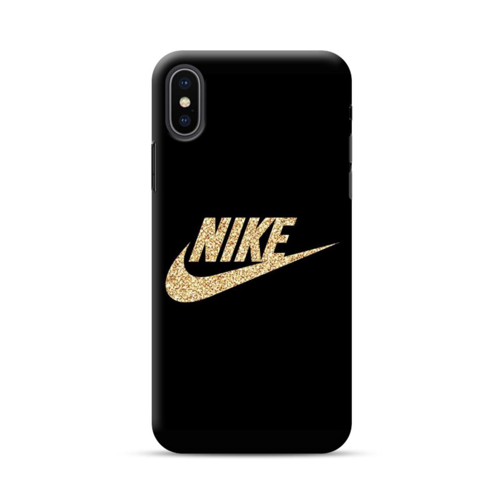 new arrival 38aa2 02a62 Nike Shining Logo iPhone XS Max Case