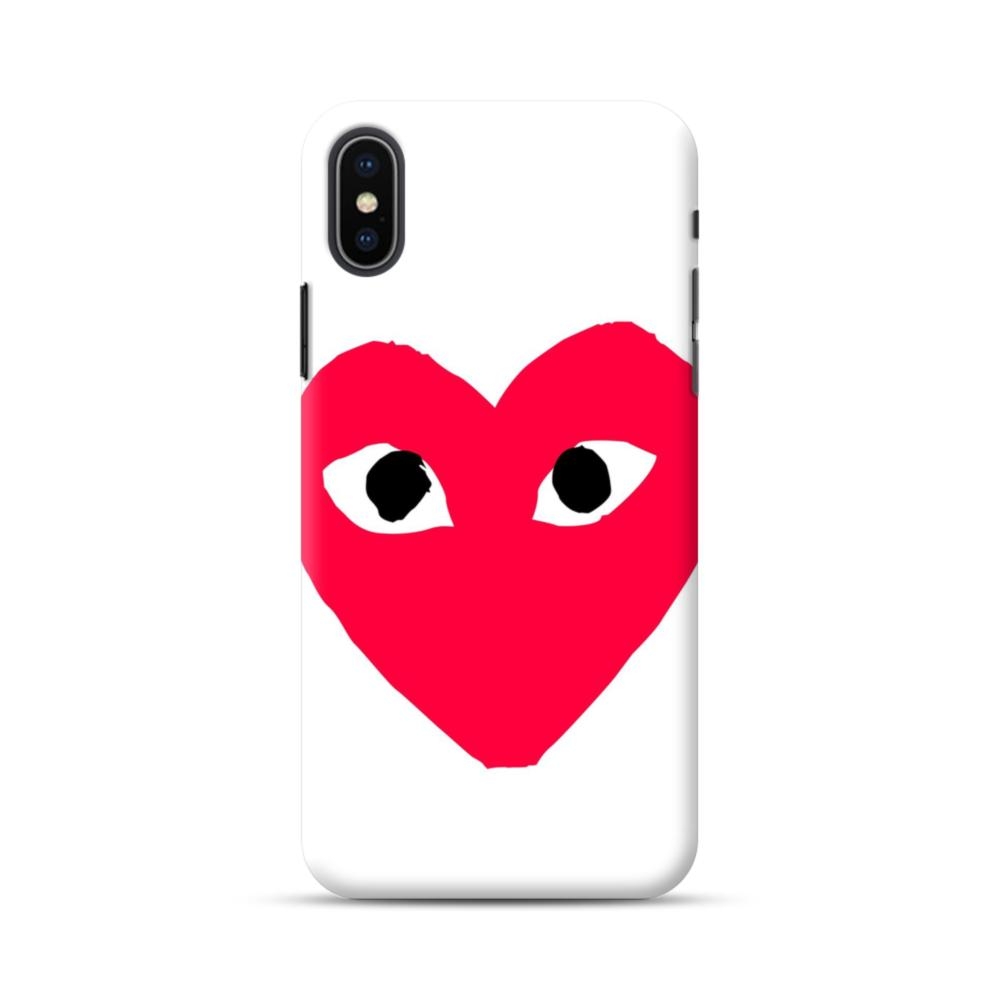 on sale 057f5 c39aa Heart Face iPhone XS Max Case