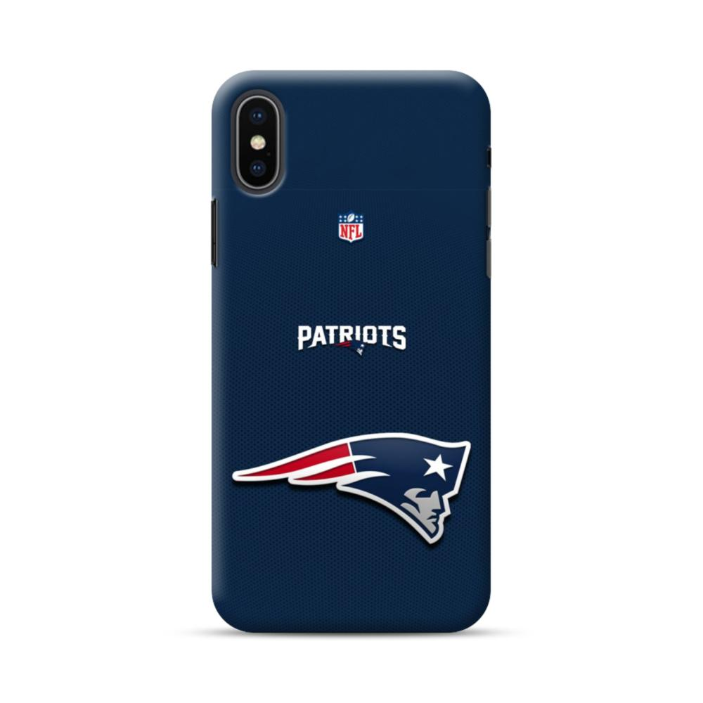 competitive price c221a 9c29f New England Patriots Team Logo NFL iPhone XS Max Case