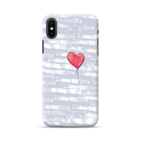 Red Heart Balloon iPhone XS Max Case