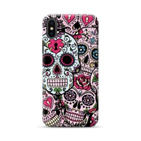 Sugar Skulls Hydro Dipping Pattern iPhone XS Max Case