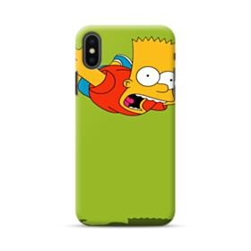 Bart in the air iPhone XS Max Case