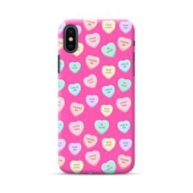 Love Me Hearts iPhone XS Max Case