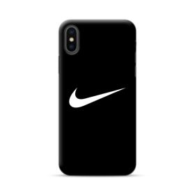 buy online b2b8d e16ce Nike Logo Black iPhone XS Max Case