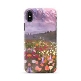 Snow Mountain Garden iPhone XS Max Case