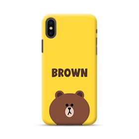 Line Friends Brown iPhone XS Max Case