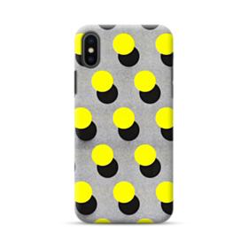 Yellow Dots iPhone XS Max Case