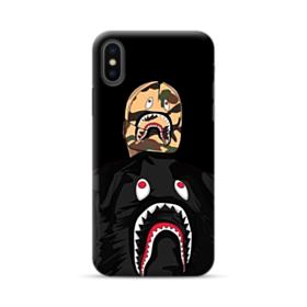 Boy Wearing Shark Jacket iPhone XS Max Case