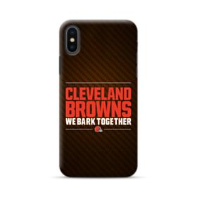 Cleveland Browns We Bark Together iPhone XS Max Case