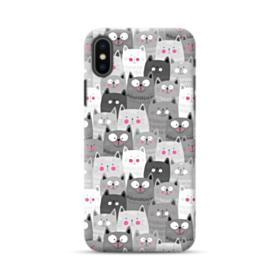 Lovely Cats Crowd iPhone XS Max Case