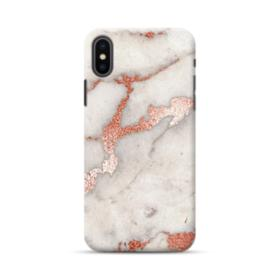 Rosegold Marble iPhone XS Max Case