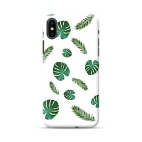 Green Palm Leaves iPhone XS Max Case