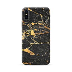 Black & Gold Marble iPhone XS Max Case