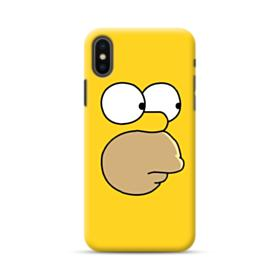 The Simpsons Face iPhone XS Max Case