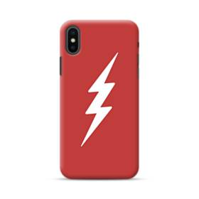 Flash Hero Logo Minimalism iPhone XS Max Case