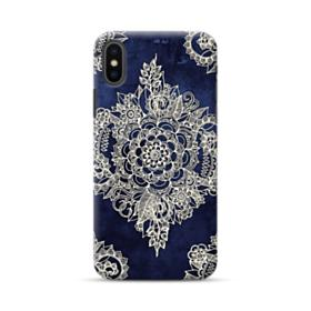 Cream Floral Moroccan Pattern  iPhone XS Max Case