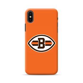 Football Shape B Symbol iPhone XS Max Case