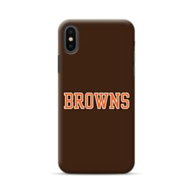 Browns Texts iPhone XS Max Case