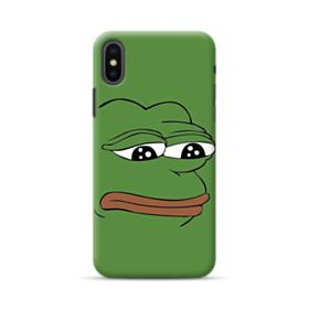 Sad Pepe frog iPhone XS Max Case