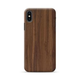 Dark Walnut Wood iPhone XS Max Case