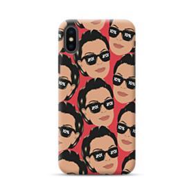 Kris jenner funny meme emoji iPhone XS Max Case