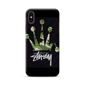 Stussy Army Crown iPhone XS Max Case
