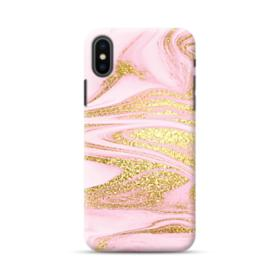 Pink & Gold iPhone XS Max Case