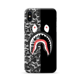 Bape Shark Camo & Black iPhone XS Max Case