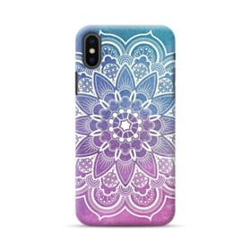 Mix-colored Mandala Flower Pattern iPhone XS Max Case