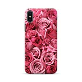 Romantic Rose Pattern iPhone XS Max Case